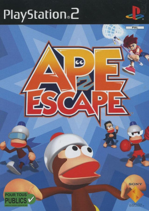 Ape Escape 2 sur PS2