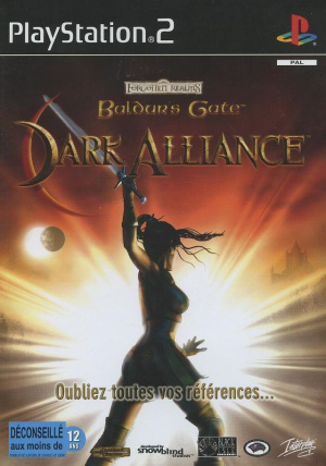 Baldur's Gate : Dark Alliance sur PS2