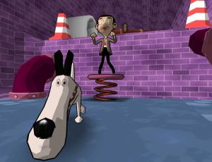 Mr. Bean vient gaffer sur Wii