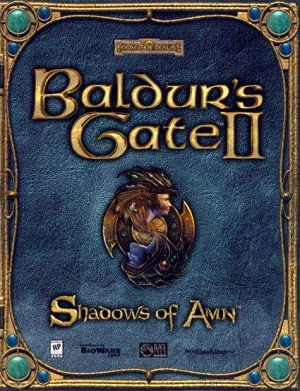 Baldur's Gate II : Shadows of Amn sur PS2