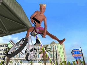 BMX XXX pas de seins nus dans la version PS2