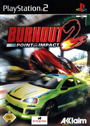 Burnout 2 : Point of Impact sur PS2