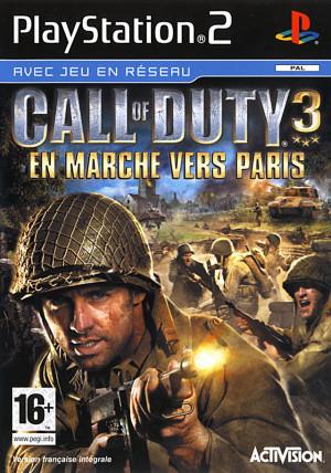 Call of Duty 3 : En Marche vers Paris sur PS2