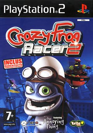 Crazy Frog Racer 2 sur PS2