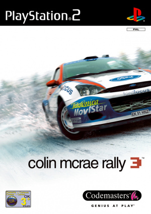 Colin McRae Rally 3 sur PS2