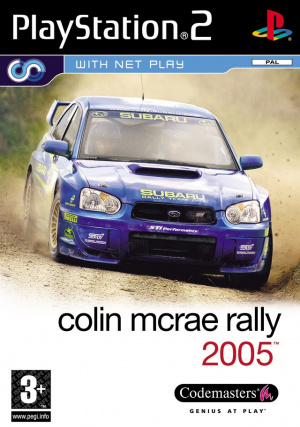 Colin McRae Rally 2005 sur PS2