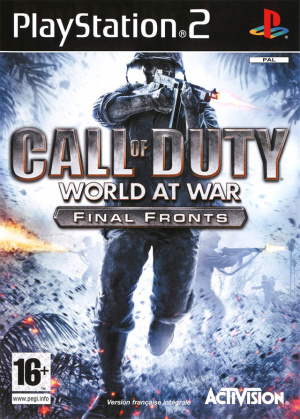 Call of Duty : World at War : Final Fronts sur PS2