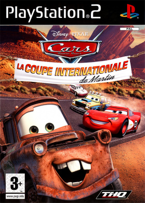 Cars : La Coupe Internationale de Martin sur PS2