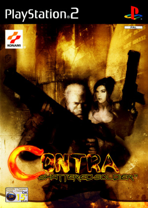 Contra : Shattered Soldier sur PS2