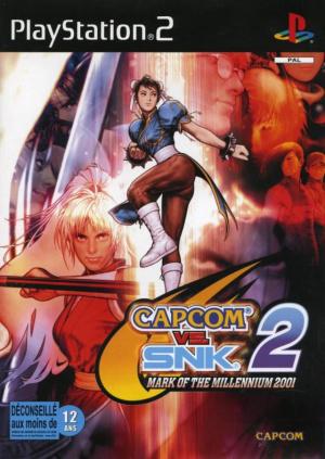 Capcom vs. SNK 2 : Mark of the Millennium 2001 sur PS2