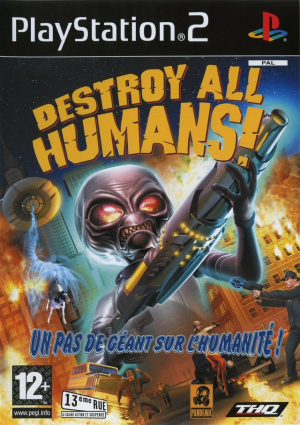 Destroy All Humans! sur PS2
