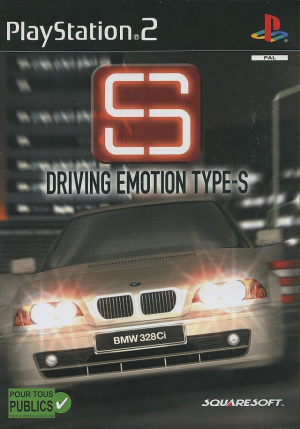 Driving Emotion Type-S sur PS2