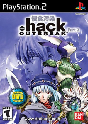 .hack//Outbreak Part 3 sur PS2