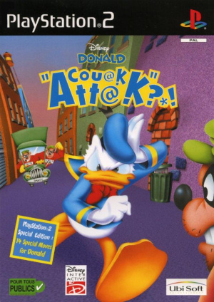 Donald Couak Attack ?*! sur PS2