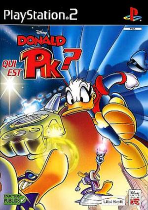 Donald : Qui est PK ? sur PS2