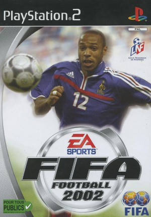FIFA Football 2002 sur PS2