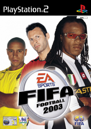 FIFA Football 2003 sur PS2