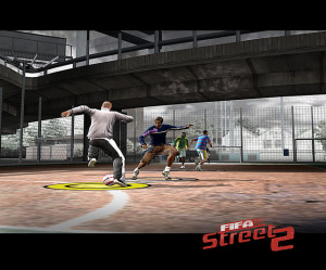 FIFA Street 2 commence les jonglages