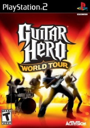 Guitar Hero : World Tour sur PS2