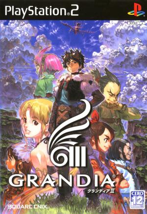 Grandia III sur PS2
