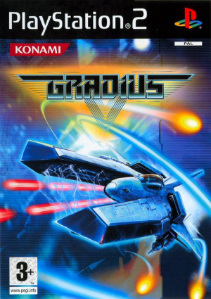Gradius V sur PS2