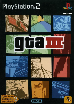 Grand Theft Auto III sur PS2