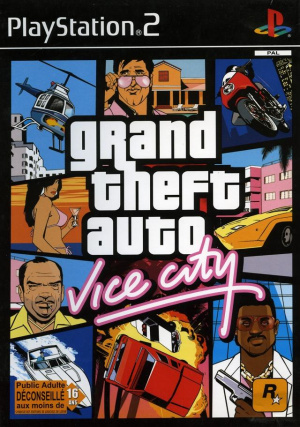 Grand Theft Auto : Vice City sur PS2