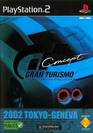 test du jeu gran turismo concept 2002 tokyo geneva sur ps2. Black Bedroom Furniture Sets. Home Design Ideas