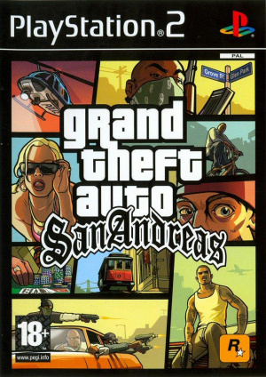 Grand Theft Auto : San Andreas sur PS2