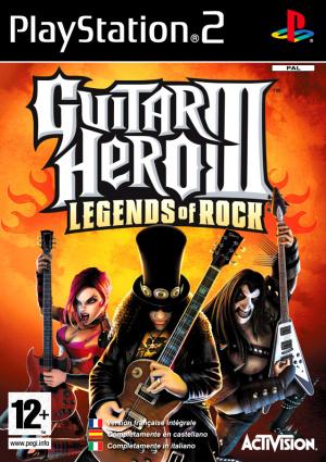 Guitar Hero III : Legends of Rock sur PS2