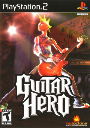 Guitar Hero sur PS2
