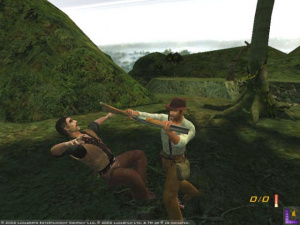 Indy s'impatiente sur PS2