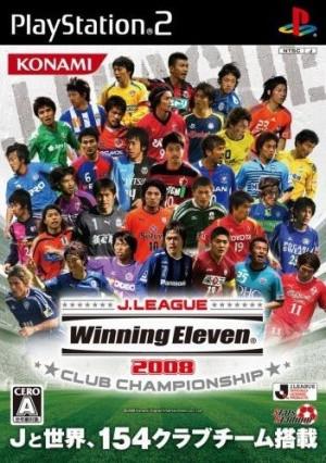 J. League Winning Eleven 2008 sur PS2