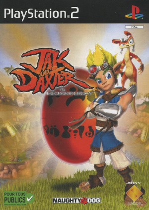 Jak & Daxter : The Precursor Legacy sur PS2
