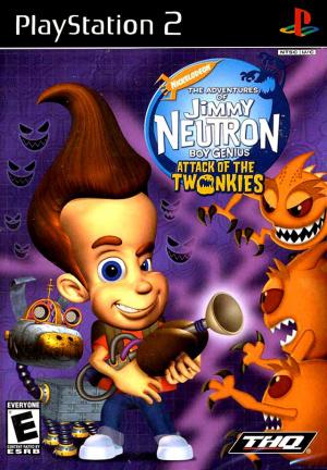Jimmy Neutron : Un Garçon Génial : L'Attaque des Twonkies sur PS2