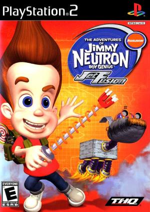 Les Aventures de Jimmy Neutron : Un Garçon Génial : Jet Fusion sur PS2