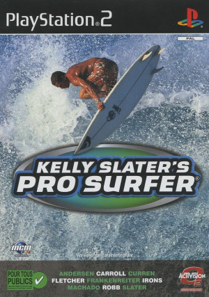 Kelly Slater's Pro Surfer sur PS2