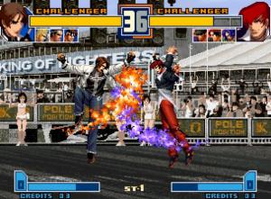 King Of Fighters 2000/2001 en Europe