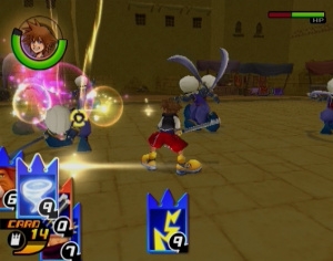 Kingdom Hearts : Chain of Memories PS2 aux US