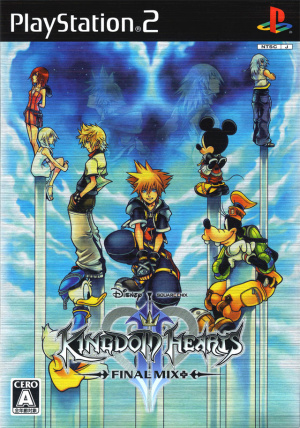 Kingdom Hearts II Final Mix+ sur PS2