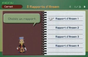 Le rapport d'Ansem