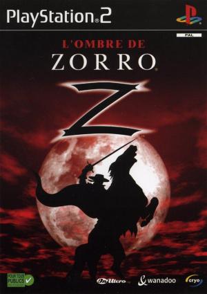 L'Ombre De Zorro sur PS2
