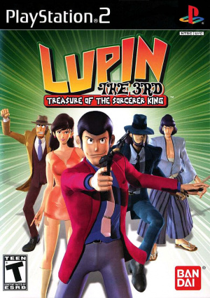 Lupin the 3rd : Treasure of the Sorcerer King sur PS2