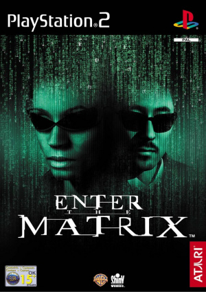 Enter the Matrix sur PS2