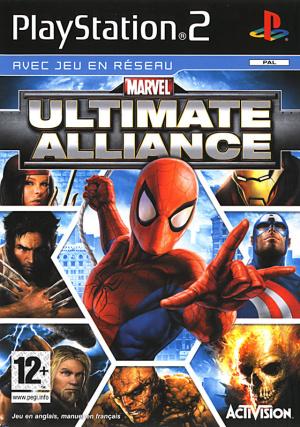 Marvel Ultimate Alliance sur PS2