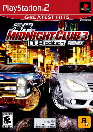 Midnight Club 3 : Dub Edition Remix sur PS2