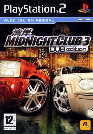 Midnight Club 3 : Dub Edition sur PS2