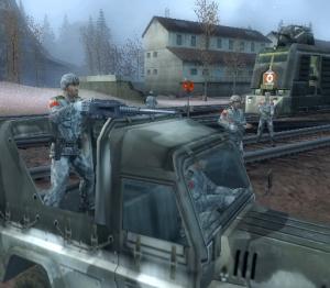 Mercenaries sur le front