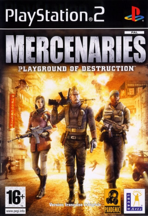 Mercenaries sur PS2