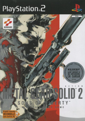 Metal Gear Solid 2 : Sons of Liberty sur PS2